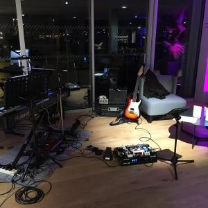 Ce soir Songsters au @radissonblu @tomlumusic @jeanlassallette
