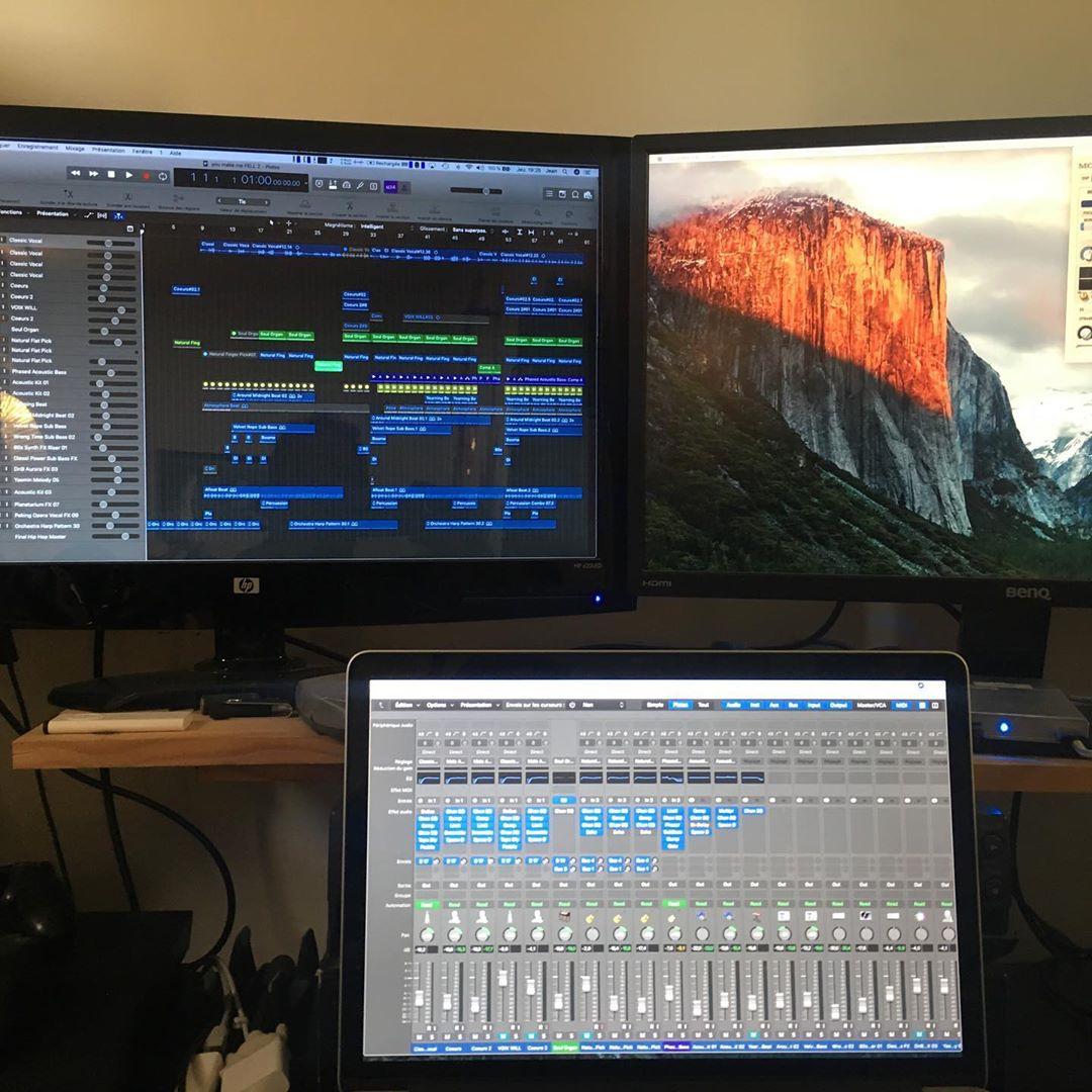 William Baldé Album Work in progress !!! @williambalde_officiel @jeanlassallette